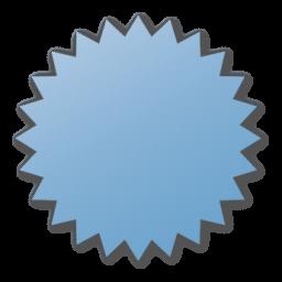 blue, label icon