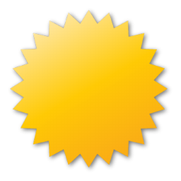 Label, yellow icon | Icon search engine
