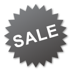 label, sale icon