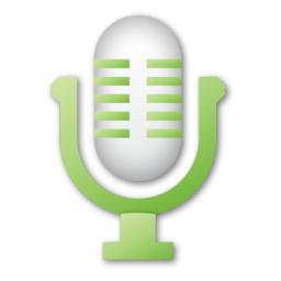 Green, microphone icon - Free download on Iconfinder