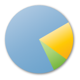 Analytics, blue, chart, pie, statistics icon | Icon search ...