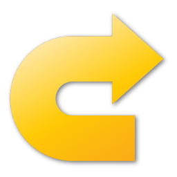 redo, yellow icon