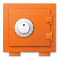red, security icon