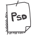 file, psd icon