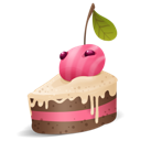 berry, cake, with icon