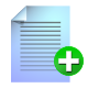 add, file icon