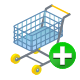 add, cart, ecommerce, shopping icon