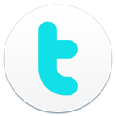 badge, twitter icon
