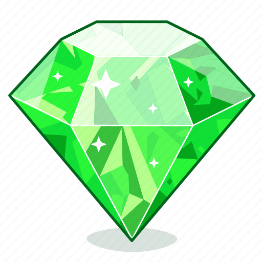 Diamond, gift, brilliant, sapphire, emerald, gemstone, gem icon