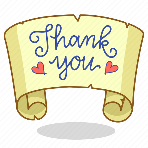 Note, thank, thankful, you icon - Download on Iconfinder