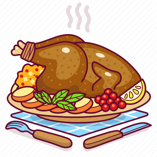 Thanksgiving Food Cartoon Themediocremama