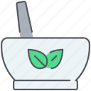 alternative, healing, herbal, medicine, natural, plants, treatment icon