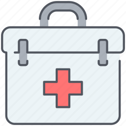 aid, first, first aid kit, kit, medical, pharmacy, urgency icon