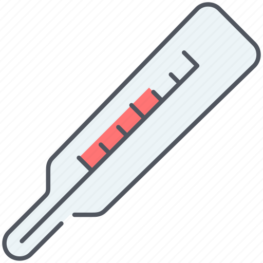 fever, healthcare, high, medicine, temperature, thermometer, treatment icon