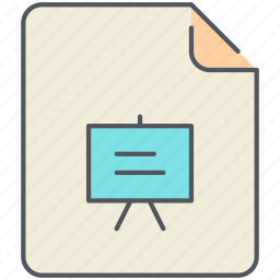artboard, document, extension, file, filetype, format, presentation icon