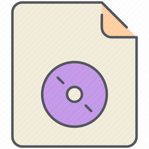 audio, cd, extension, file, filetype, format, music icon