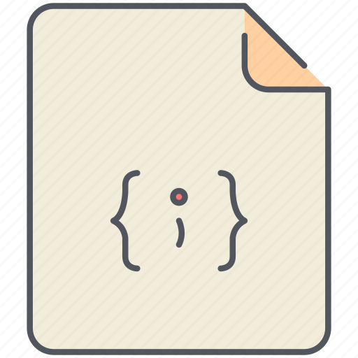 code, extension, file, filetype, format, front-end, java script icon