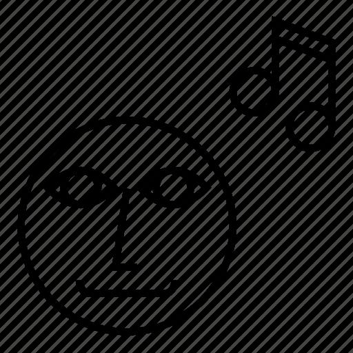audio, hear, listen, music, sound icon