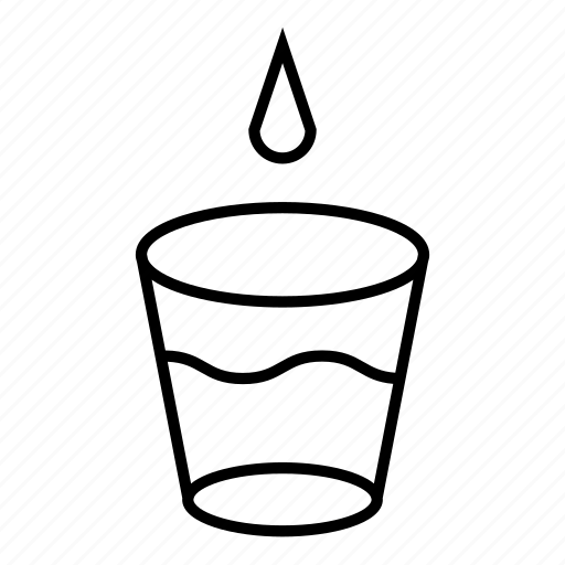 beverage, cup, drink, drop, thirst, thirsty, water icon