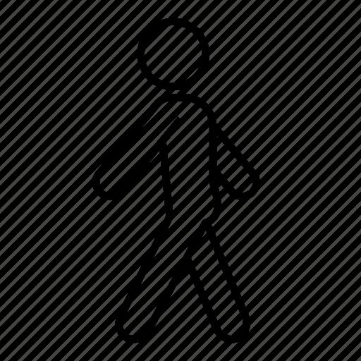 move, movement, stroll, walk around, walking icon