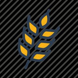 autumn, corn, farm, food, harvest, pastry, wheat icon