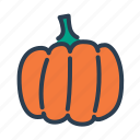 autumn, halloween, harvest, pumpkin icon