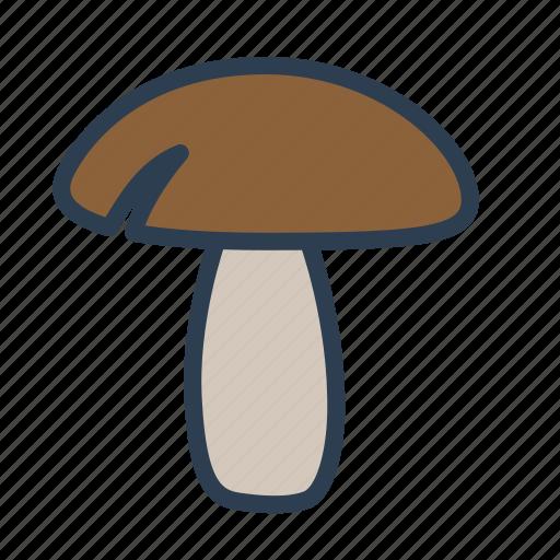 autumn, cooking, food, forest, harvest, mushroom, vegetable icon