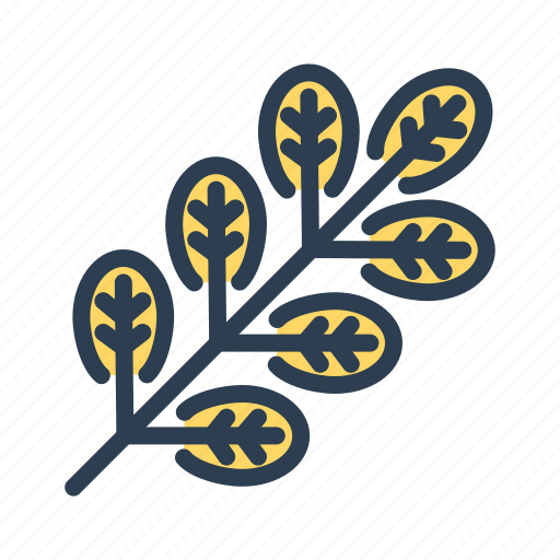 autumn, fall, leaf, plant icon