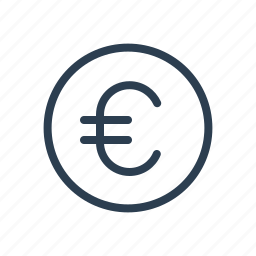cash, coin, currency, euro, european, finance, money icon