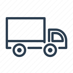 delivery, shipment, shipping, transport, transportation, truck, van icon