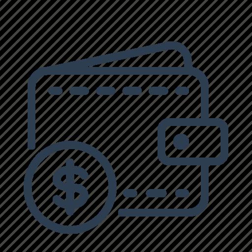 cash, coin, dollar, finance, money, usd, wallet icon