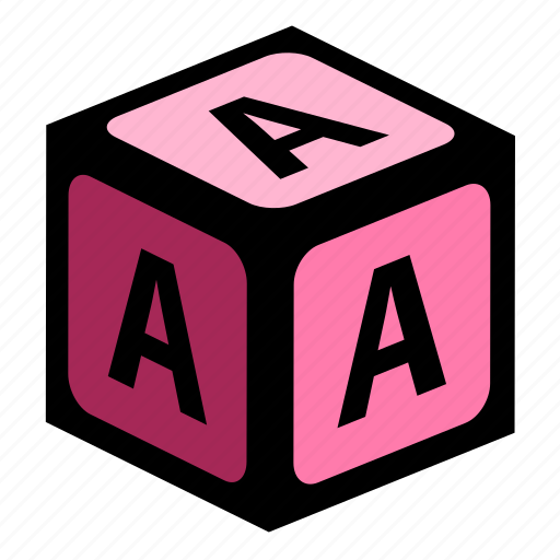 a, abc, alphabet, font, graphic, language, letter icon