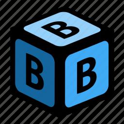 abc, alphabet, b, font, graphic, language, letter icon