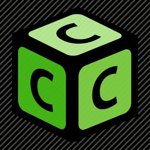 abc, alphabet, c, font, graphic, language, letter icon