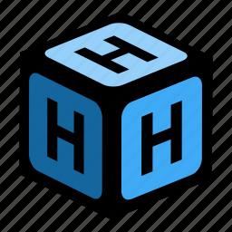 abc, alphabet, font, graphic, h, language, letter icon