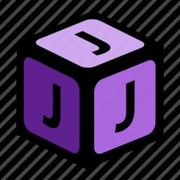 abc, alphabet, font, graphic, j, language, letter icon