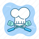 chef, cooking, culinary, kitchen, restaurant icon