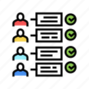 order, customer, about, us, report, delivery icon