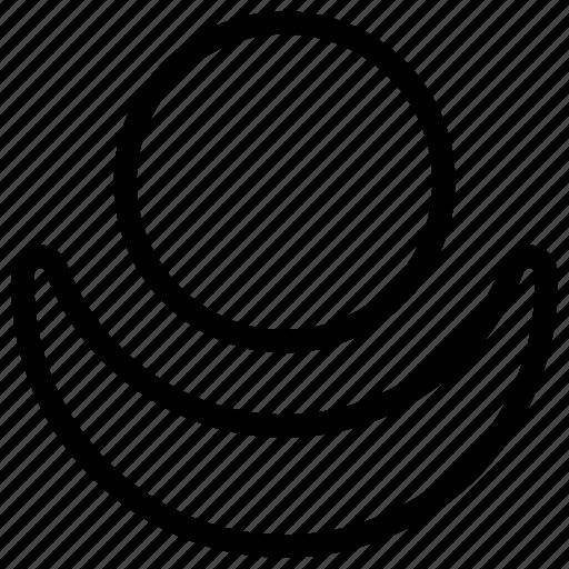 apex, fill, key, part, sense, top icon