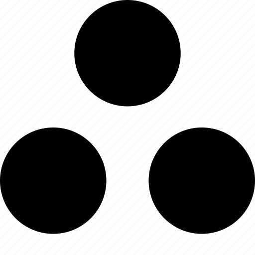 creative, spots, three icon