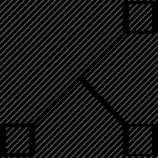 abstract, creative, design, edges icon