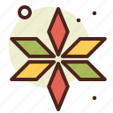 abstraction, flower, interface, shapes icon