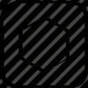 abstract, center, creative, design, eye icon