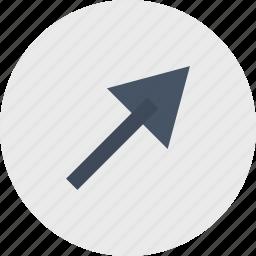 abstract, arrow, create, creation, shape icon
