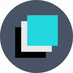 abstract, copy, create, creation, layers, shape icon