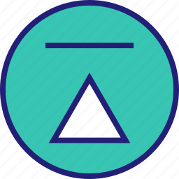 abstract, design, shape, up icon