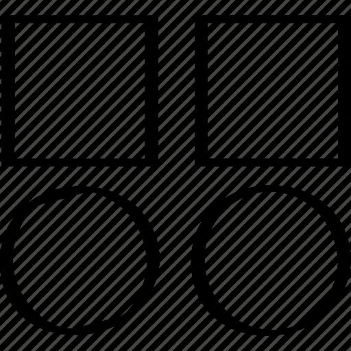 abstract, copy, creative, design icon