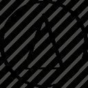 abstract, arrow, creative, design, point icon