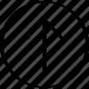 arrow, pointing, upload, uploadp icon