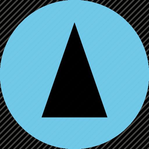 abstract, cone, creative, design, up icon